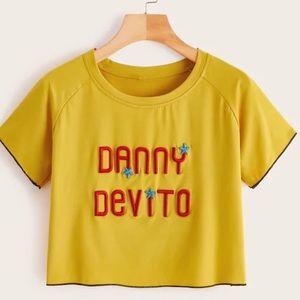 Danny DeVito Crop Top